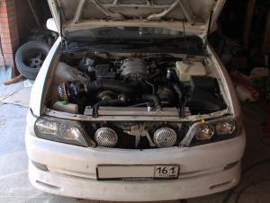 Toyota CHASER swap 3UZ-FE