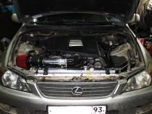 Lexus IS200 swap 1UZ-FE vvti